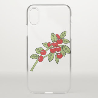 Coque iPhone X canneberges