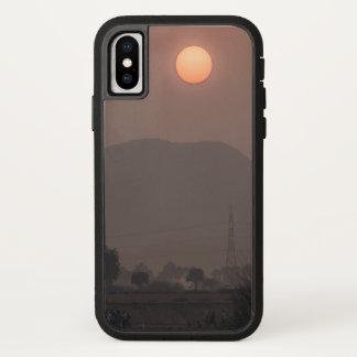 Coque iPhone X cas de lever de soleil de l'iphone X