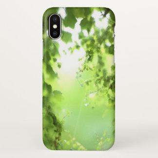 Coque iPhone X Cas de lierre
