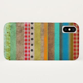 Coque iPhone X Cas de l'iPhone uni par couleurs 5 du pays des