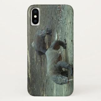 Coque iPhone X Cas de l'iPhone X de dragons de Komodo