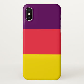 Coque iPhone X Cas de l'iPhone X de limonade de raisin