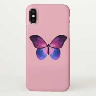 Coque iPhone X Cas de l'iPhone X de papillon