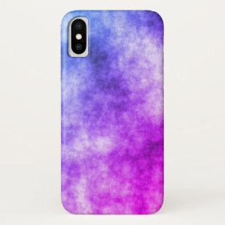 Coque iPhone X Cas de l'iPhone X de structure de couleur de Miami