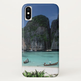 Coque iPhone X Cas de l'iphone X d'îles de phi de phi