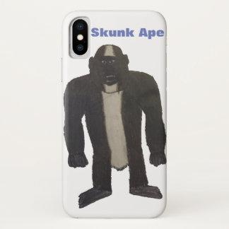 Coque iPhone X Cas de singe de mouffette