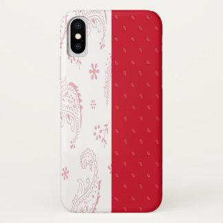 Coque iPhone X Cas de téléphone de drapeau de la Pologne