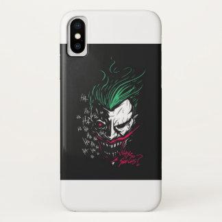 Coque iPhone X CAS de TÉLÉPHONE de JOKER de l'iphone X