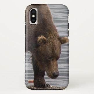 Coque iPhone X Cas de téléphone de l'ours 94