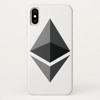 Coque iPhone X Cas de téléphone d'Etherium ETH