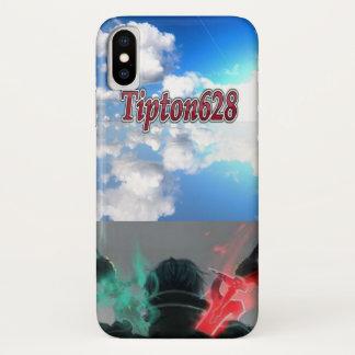 Coque iPhone X Cas de téléphone d'IPhone X de Tipton