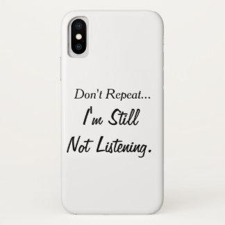Coque iPhone X Cas de téléphone portable