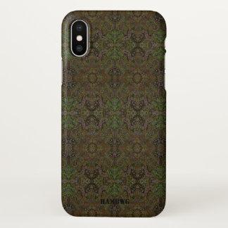 Coque iPhone X Cas de téléphone portable de HAMbyWG - gitan olive