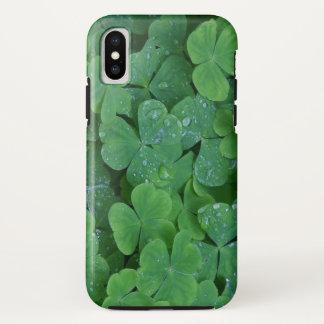 Coque iPhone X Cas d'Iphone X de shamrocks