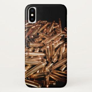 Coque iPhone X Cas en laiton dégringolé de téléphone