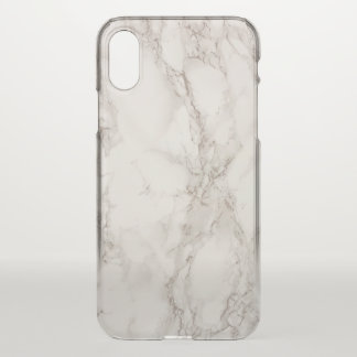 Coque iPhone X Cas en pierre de marbre de l'iPhone X