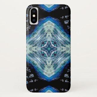 Coque iPhone X Cas mystique de formule d'étoile de Mathers