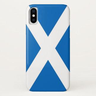 Coque iPhone X Cas patriotique d'Iphone X avec le drapeau de