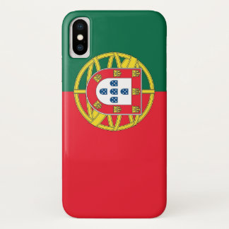 Coque iPhone X Cas patriotique d'Iphone X avec le drapeau du
