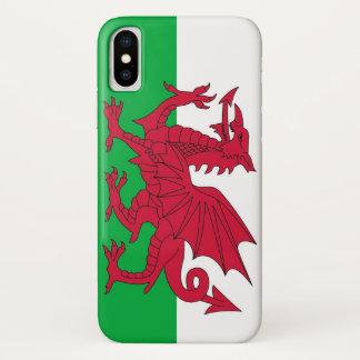 Coque iPhone X Cas patriotique d'Iphone X avec le drapeau du Pays