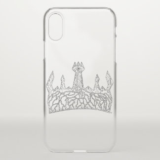 Coque iPhone X Cas royal