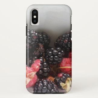 Coque iPhone X Cas sauvage de téléphone de baie