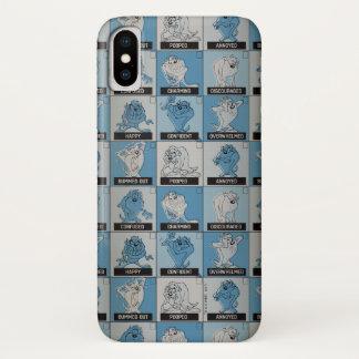 Coque iPhone X Checkbox d'émotion de TAZ™