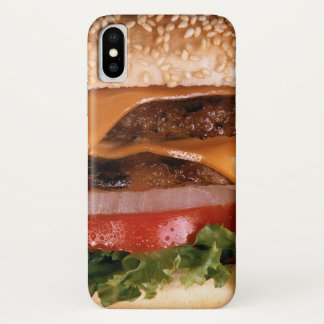 Coque iPhone X Cheeseburger