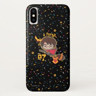 Coque iPhone X Chercheur de Harry Potter Quidditch de bande