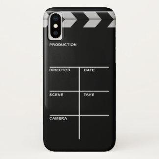 Coque iPhone X Cinéma de bardeau pour l'action
