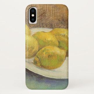 Coque iPhone X Citrons toujours de la vie d'un plat par Vincent