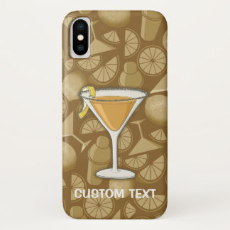 Coque iPhone X Cocktail de sidecar