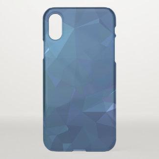 Coque iPhone X Conceptions abstraites et propres de Geo - cristal