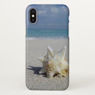 Coque iPhone X Conque sur la plage : Varadero, Cuba - cas de