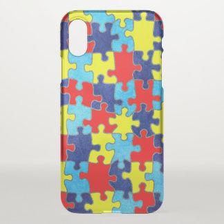 Coque iPhone X Conscience-Puzzle d'autisme par Shirley Taylor