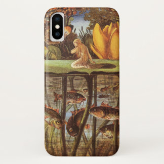 Coque iPhone X Conte de fées vintage de Thumbelina, Eleanor Vere