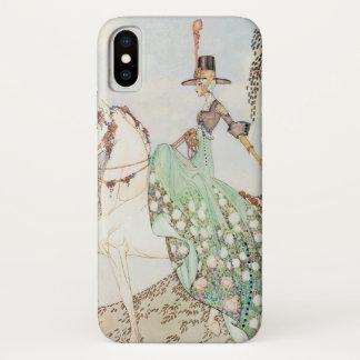 Coque iPhone X Conte de fées vintage, princesse Minette, Kay