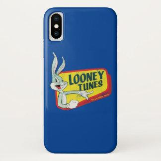 Coque iPhone X Correction LOONEY du ™ TUNES™ de BUGS BUNNY rétro