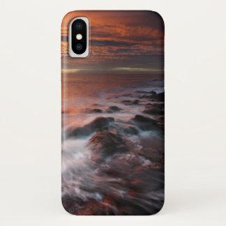 Coque iPhone X Côte du parc naturel de Cabo De Gata