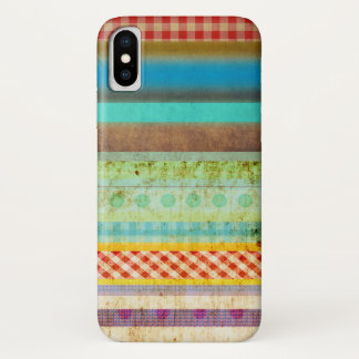 Coque iPhone X Couleurs du pays des merveilles unies