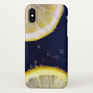 Coque iPhone X Couverture d'iphone de conception de citron