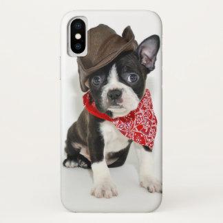 Coque iPhone X Cowboy Boston