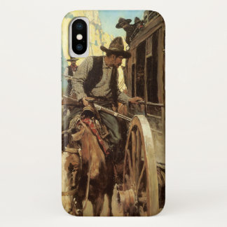 Coque iPhone X Cowboys vintages, le hors-la-loi excellent par OR
