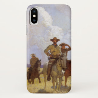 Coque iPhone X Cowboys vintages, l'équipement de Parkman par OR