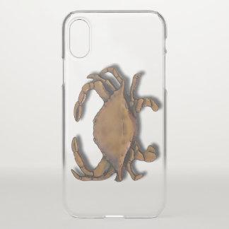 Coque iPhone X Crabe de cuivre
