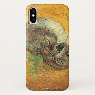 Coque iPhone X Crâne par Vincent van Gogh, impressionisme vintage