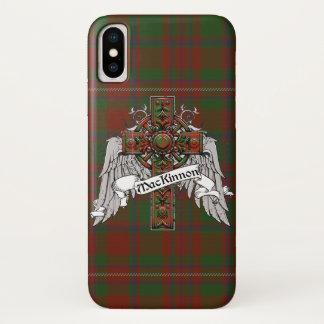 Coque iPhone X Croix de tartan de MacKinnon