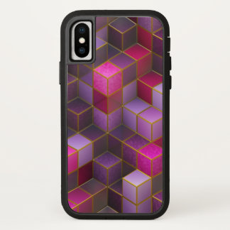 Coque iPhone X Cubes