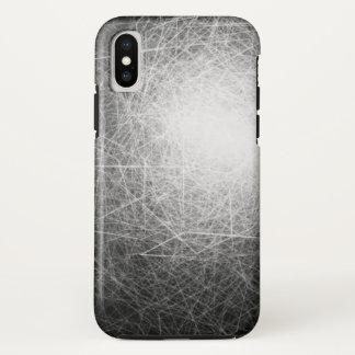 Coque iPhone X Cubes orbitaux - cas de l'iPhone X d'Apple