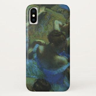 Coque iPhone X Danseurs bleus par Edgar Degas, impressionisme